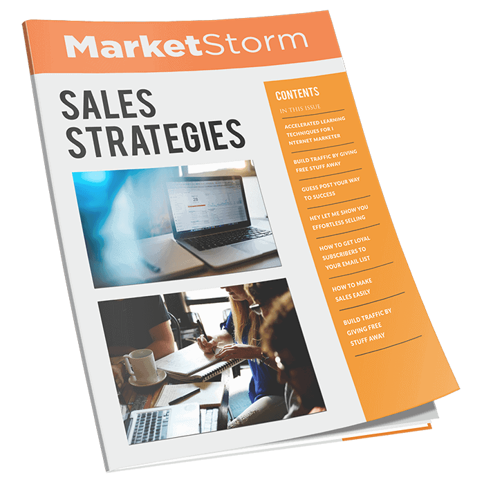 Marketstorm Sales Strategies MRR Newsletter Magazine