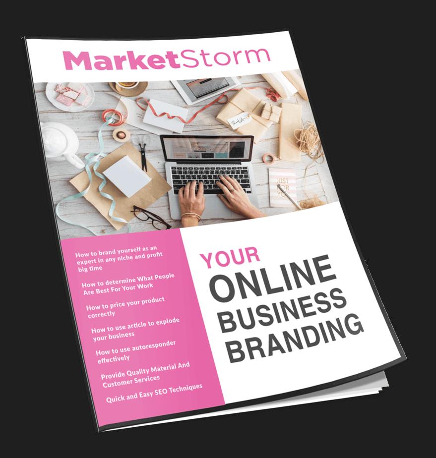 Marketstorm Your Online Business Branding MRR Newsletter Magazine