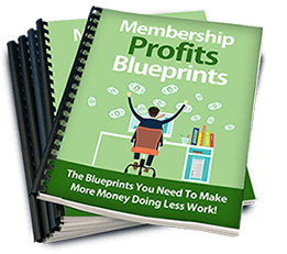 Membership Profits Blueprints Cover