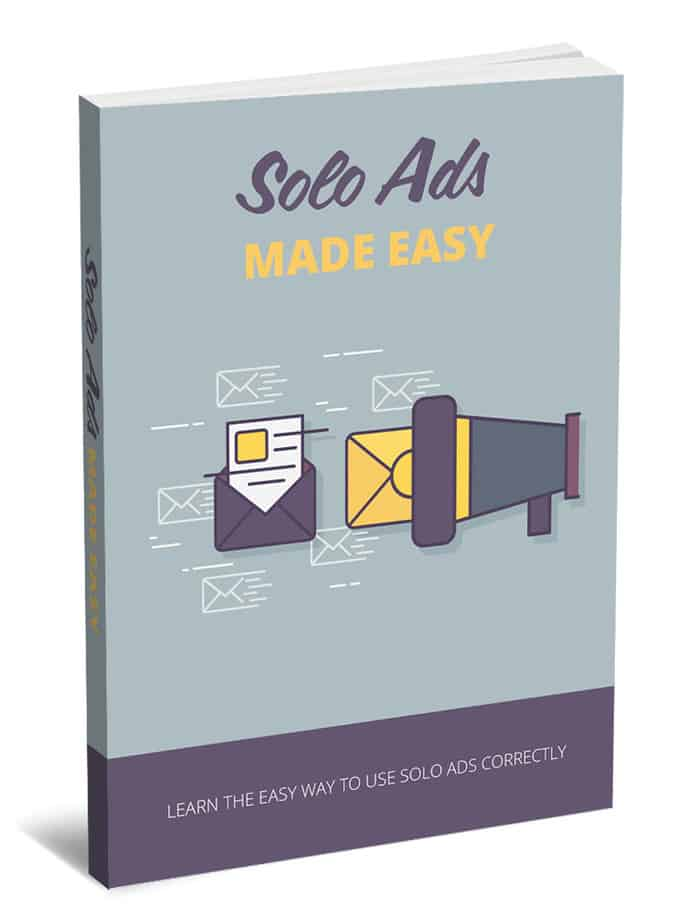 Solo Ads Made Easy MRR eBook and Squeeze Page
