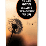 The 7-Day Gratitude Challenge That Can Change Your Life MRR eBook and Squeeze Page