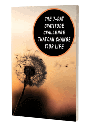 The 7 Day Gratitude Challenge That Can Change Your Life MRR eBook and Squeeze Page