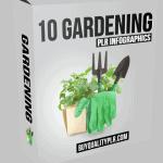 10 Gardening PLR Infographics