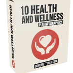 10 Health and Wellness PLR Infographics