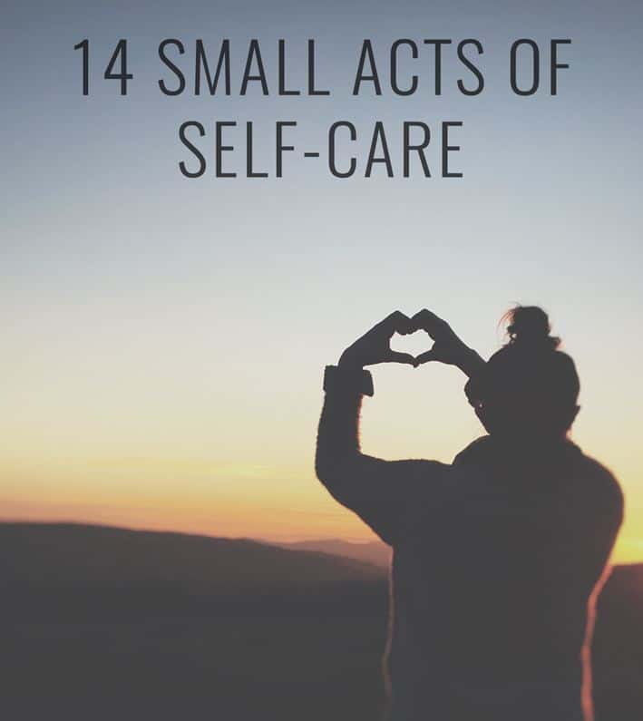 14 acts of self care PLR Checklist