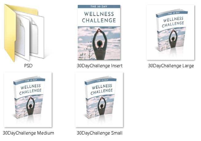 30 day wellness challenge PLR ecovers
