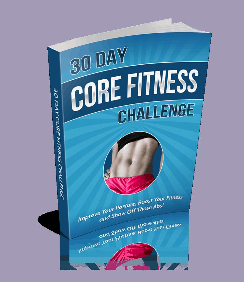 30 day core fitness challenge premium plr ebook