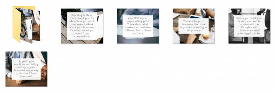 Branding Checklist PLR Social Graphics