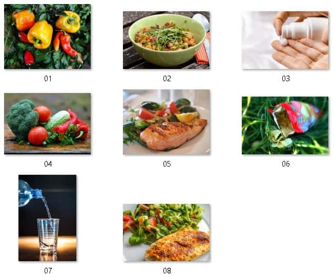 Clean Eating Royalty Free Images
