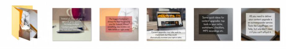 Content Upgrades PLR Social Media Posts