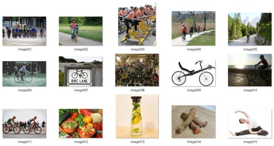 Cycling Fitness Royalty Free Images