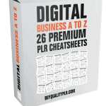 Digital Business A To Z Premium PLR Cheatsheets