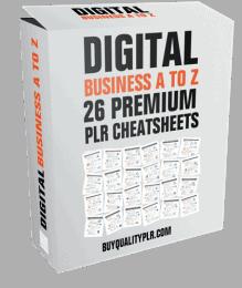Digital Business A To Z PLR Cover