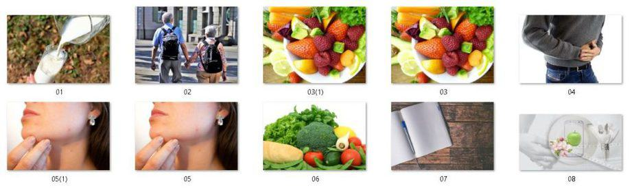 Elimination Diet Royalty Free Images
