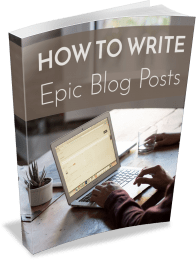 Epic Blog Posts PLR eBook