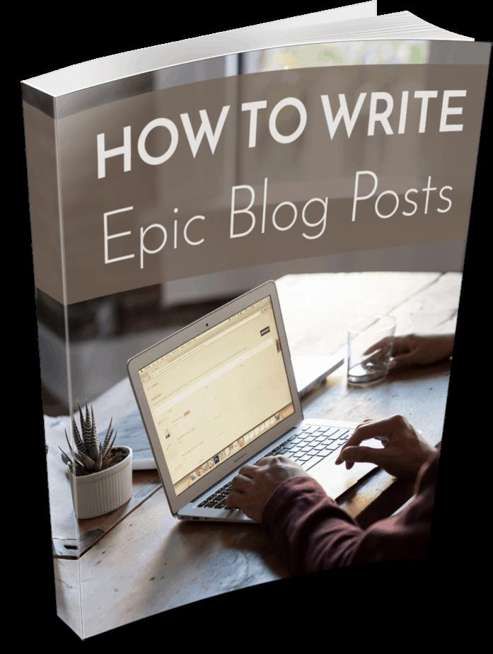 Epic Blog Posts PLR eBook