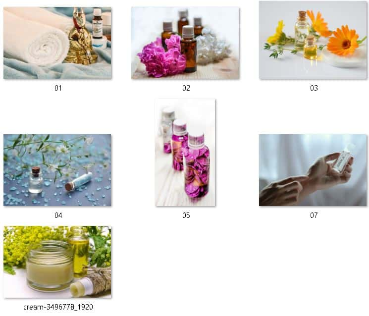 Essential Oils Royalty Free Images