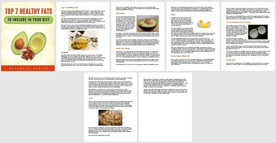 Fat Adapted Diet Premium PLR Report Sneak Preview