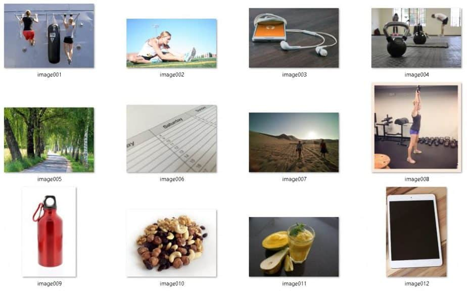 Fitness and Diet Hacks Royalty Free Images
