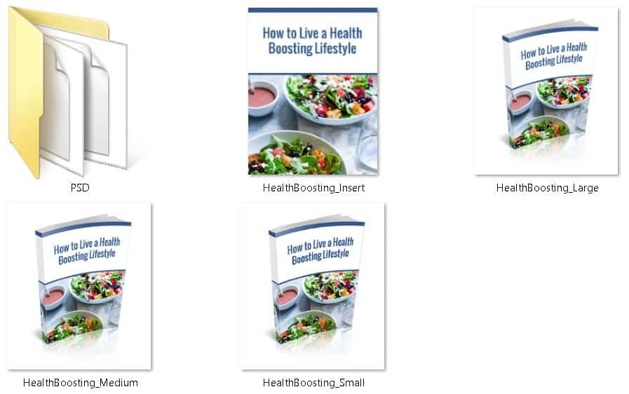 Health Boosting Lifestyle Premium PLR Ecovers