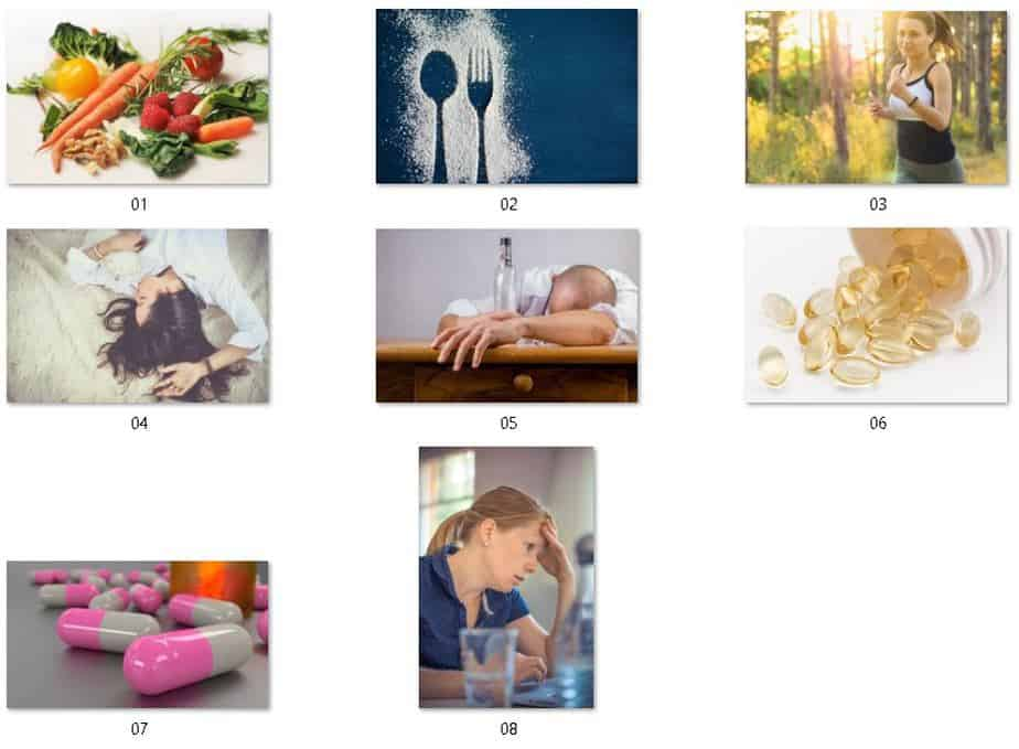 Health Boosting Lifestyle Royalty Free Images