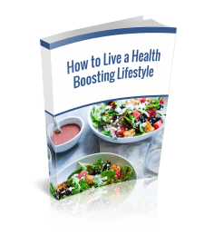 Health Boosting Lifestyle PLR Ebook