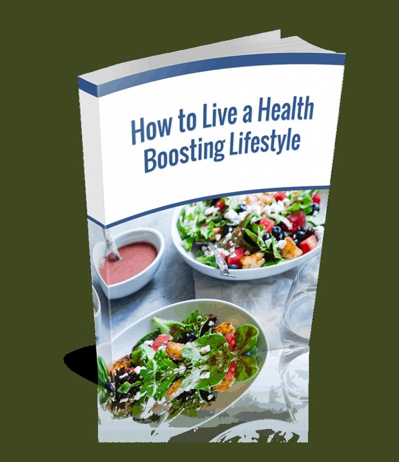 Health Boosting Lifestyle PLR Ebook