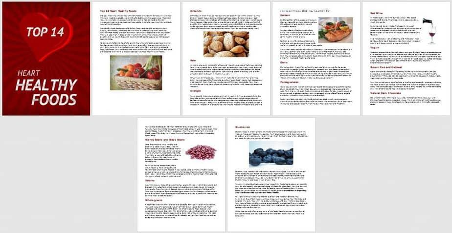 Healthy Heart Habits Premium PLR Report Sneak Preview