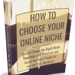 How to Choose an Online Niche PLR Ebook