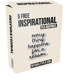 Inspirational PLR Graphics Cover