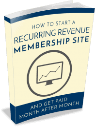 Membership Sites PLR eBook