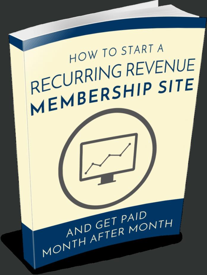 Membership Sites PLR eBook