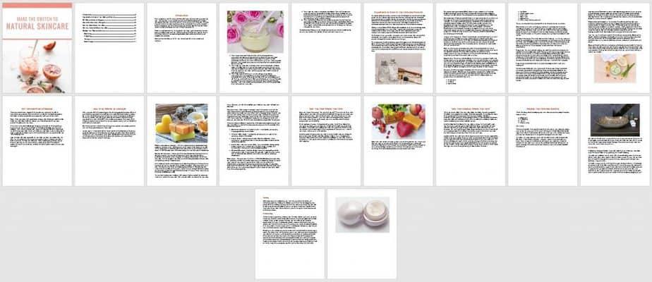 Skincare PLR Ebook