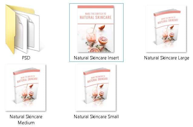 Natural Skincare Premium PLR Ecovers