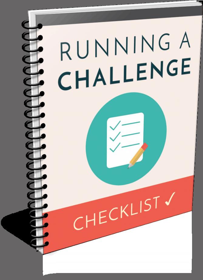 Running A Challenge PLR Checklist