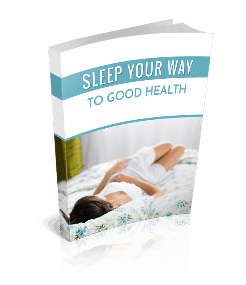 Sleep Your Way to Good Health PLR Ebook