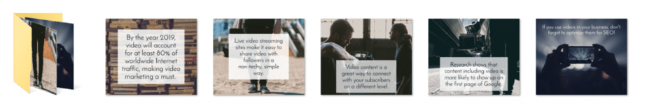 Video Marketing PLR Social Graphics