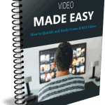 Video Production and Editing Made Easy PLR Report