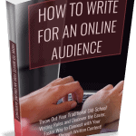 Writing for Online Audience PLR Ebook
