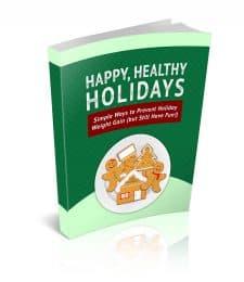 Health Happy Holidays PLR Ebook