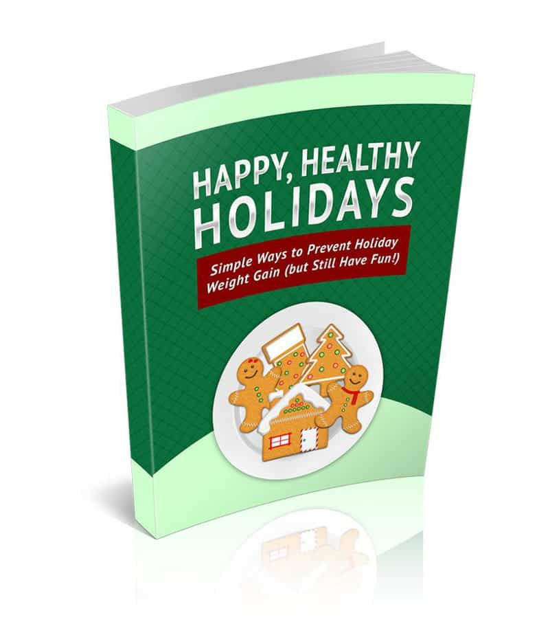 Health Happy Holidays PLR Ebook
