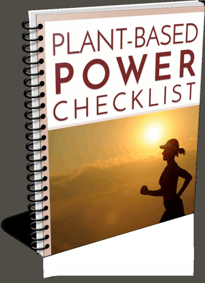 Plant Based Power PLR Checklist