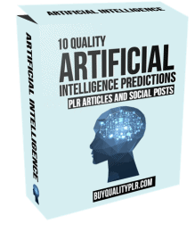 10 Artificial Intelligence Predictions PLR Articles and Social Posts