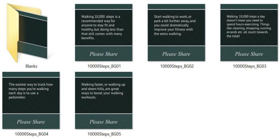 10000 Steps Premium PLR Social Fitness Tips