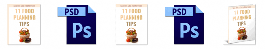 11 Food Planning Tips Report Editable Ecovers
