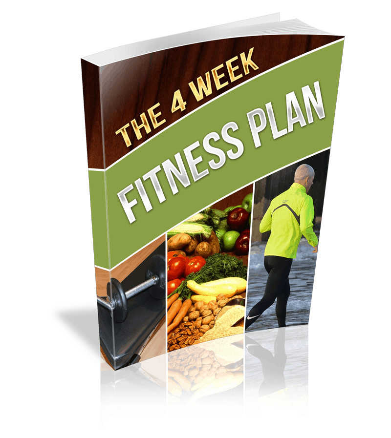 4 Week Fitness Plan Premium PLR Ebook