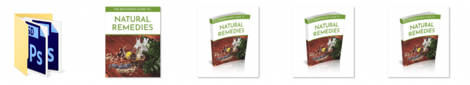 Beginner Guide to Natural Remedies PLR Editable Ecovers