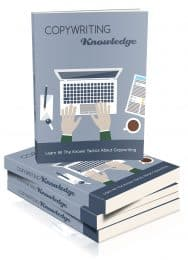Copywriting Knowledge MRR eBook and Optin Page