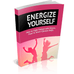 Energize Yourself Premium PLR Ebook