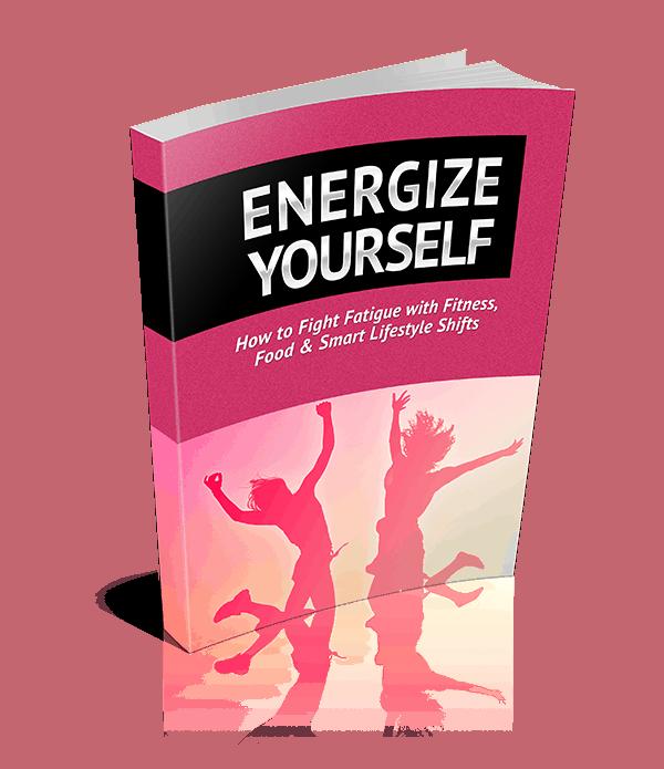 Energize Yourself Premium PLR Ebook